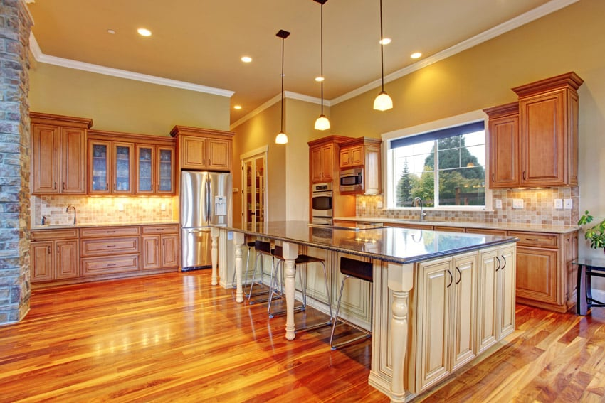 yellow pine kitchen cabinets island table with stools 49 dream designs (pictures) - designing idea