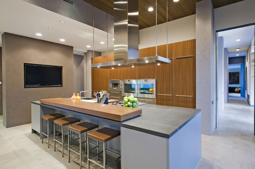 kitchen island counter cabico cabinets 33 modern islands design ideas designing idea in upscale house with breakfast bar