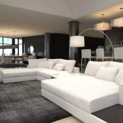 Living Room Pictures Black And White Beach Design Rooms 60 Stunning Modern Ideas Photos Designing Idea Furnished