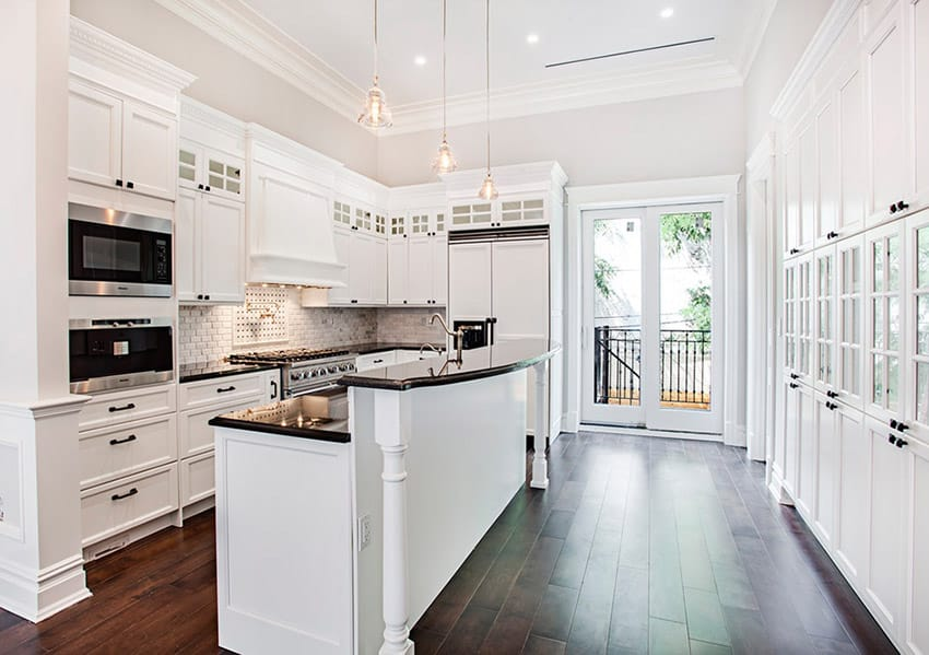 kitchens with high ceilings