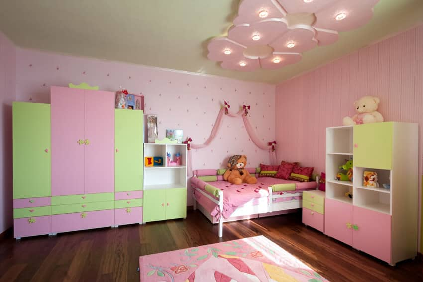 xl desk chair purple velvet uk 36 cute bedroom ideas for girls (pictures of furniture & decor) - designing idea