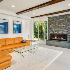 Contemporary Living Rooms With Fireplaces Room Big Window 60 Stunning Modern Ideas Photos Designing Idea Large Fireplace And Exposed Wood Beamed Ceiling