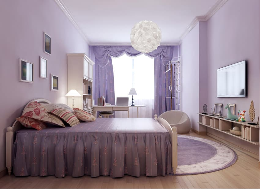 36 Cute Bedroom Ideas For Girls (Pictures Of Furniture