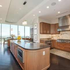 Blonde Kitchen Cabinets Lowes Kitchens 53 High End Contemporary Designs With Natural Wood Light Maple Hardwood Floors Open To Dining Room