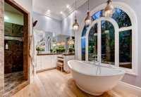 15 Bathroom Pendant Lighting Design Ideas - Designing Idea