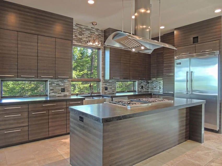 57 Luxury Kitchen Island Designs (Pictures)