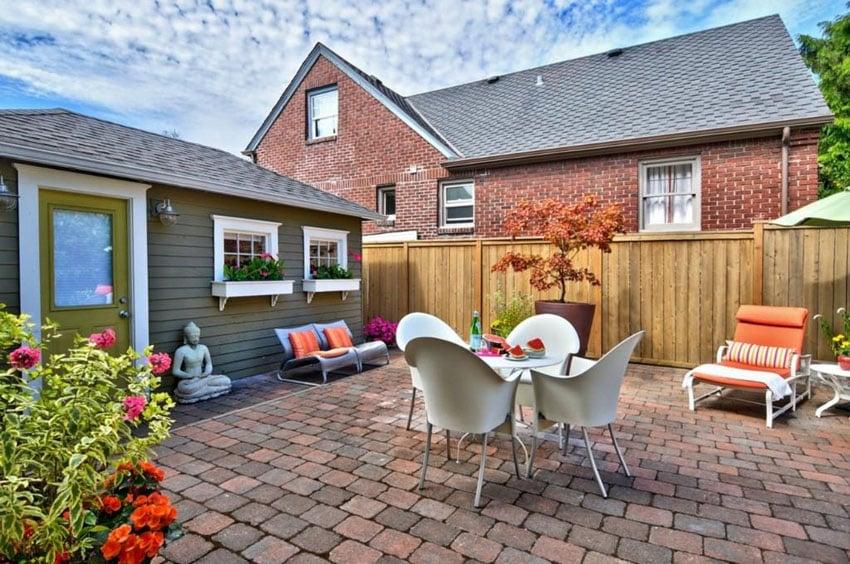 25 brick patio design ideas designing