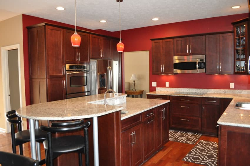25 Cherry Wood Kitchens Cabinet Designs Amp Ideas