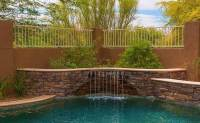 37 Swimming Pool Water Features (Waterfall Design Ideas