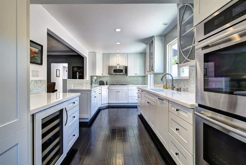 types of kitchen flooring pros and cons top rated faucets hardwood floors in the (pros cons) - designing ...