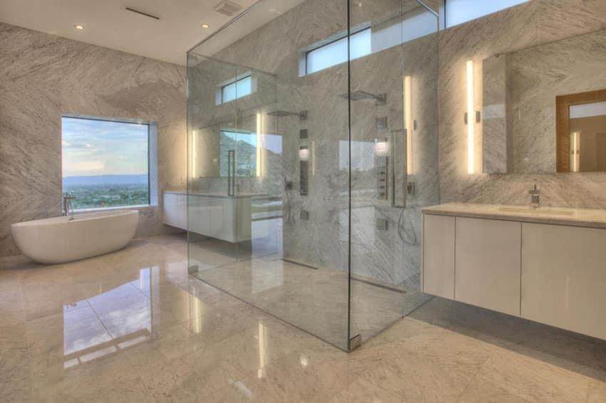 63 Luxury Walk In Showers (Design Ideas)
