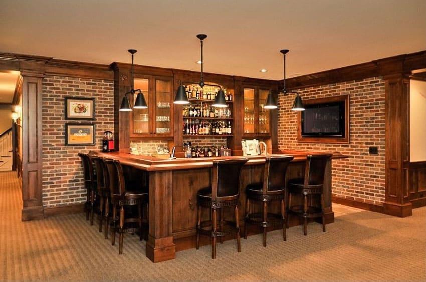 37 Custom Home Bars (Design Ideas & Pictures)