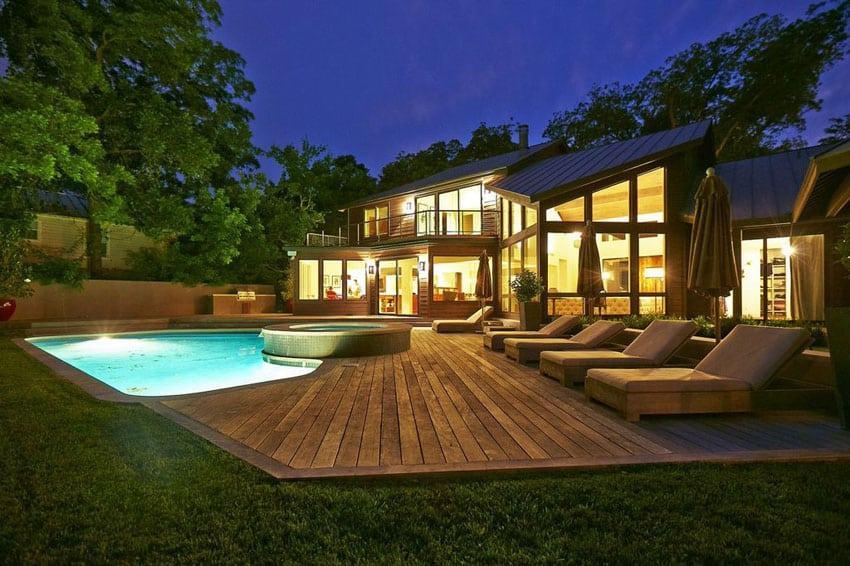 49 backyard deck ideas beautiful