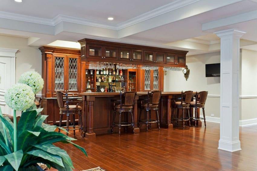 39 Custom Home Bars Design Ideas  Pictures  Designing Idea