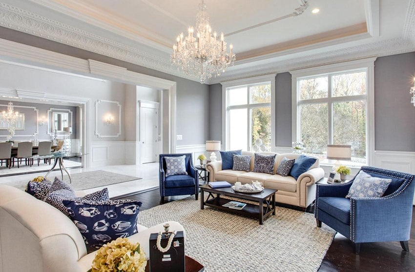 traditional living room design ideas 2016 diy storage bench 21 formal pictures designing idea luxury with tray ceiling and glass chandelier