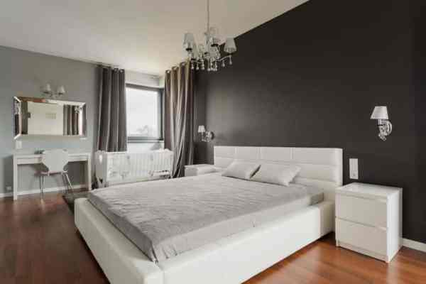 dark bedroom wall idea 27 Jaw Dropping Black Bedrooms (Design Ideas) - Designing Idea