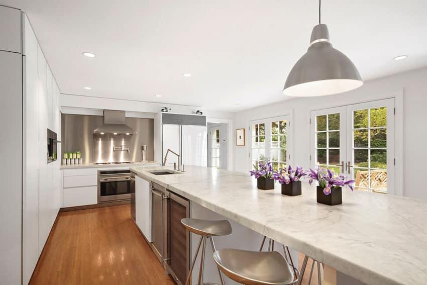 30 Beautiful White Kitchens Design Ideas Designing Idea