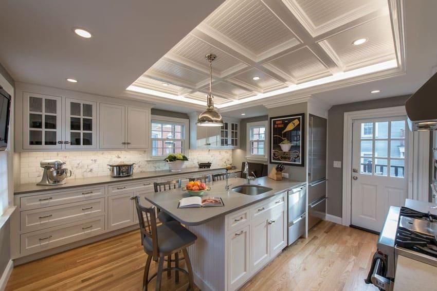 27 Gorgeous Kitchen Peninsula Ideas Pictures Designing Idea