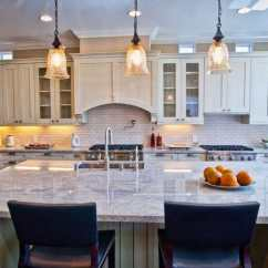 Large Kitchen Island Gray Tile Floor 37 Islands With Seating Pictures Designing Idea Bianco Catalina Granite And