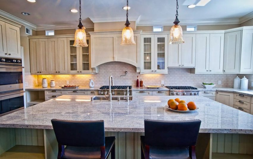 large kitchen island prefab outdoor frames 37 islands with seating pictures designing idea bianco catalina granite and