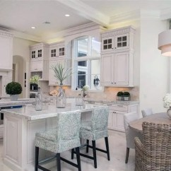 Planning A Kitchen Island Display Cabinets For Sale 27 Amazing Double Kitchens Design Ideas Designing Idea Luxury Traditional With Two Islands Damasco White Marble Counters And Cabinetry Glass