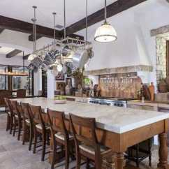 Long Kitchen Island What Is The Average Cost Of A Remodel 37 Large Islands With Seating Pictures Designing Idea Mediterranean Style Marble Counter