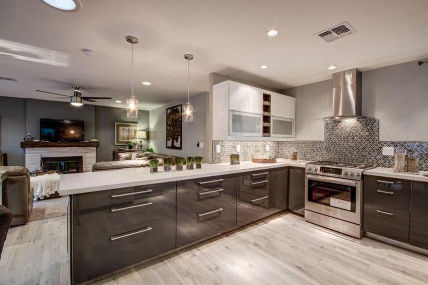 33 Gorgeous Kitchen Peninsula Ideas Pictures Designing