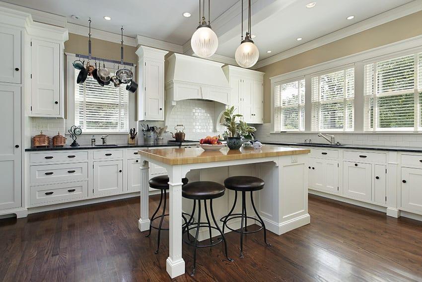 White Country Kitchen