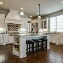 Off White Kitchen Cabinets Lanterns Antique Design Photos Designing Idea Traditional With And Dark Maple Floors