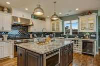 Kitchen With Antique White Cabinets | Antique Furniture