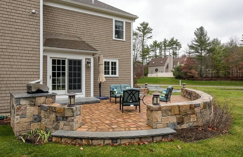 35 Stone Patio Ideas (Pictures)