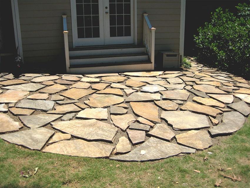 39 best flagstone patio designs