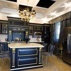Kitchen Island Light Fixture Small Sinks Beautiful Black Cabinets (design Ideas ...