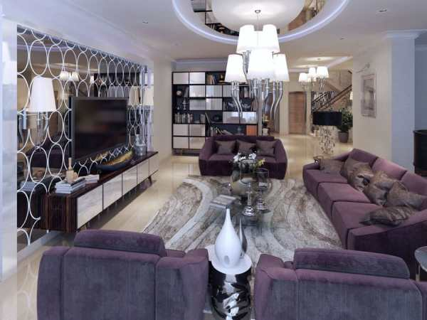 purple and silver living room ideas Contemporary Living Room Ideas (Decor & Designs) - Designing Idea