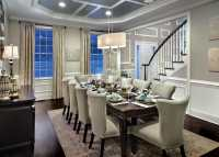 Two Tone Dining Room Ideas (Pictures) - Designing Idea