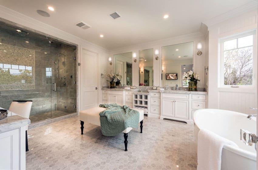 Luxurious Mansion Bathrooms Pictures  Designing Idea