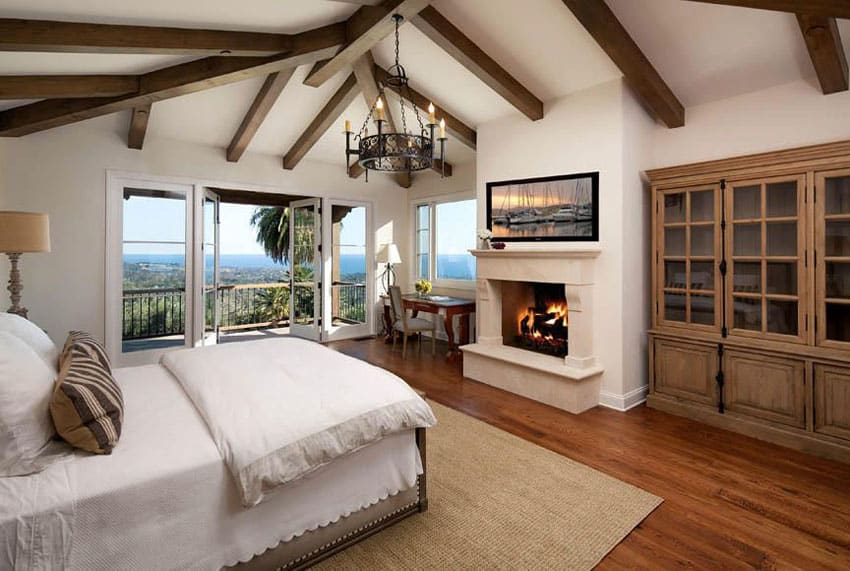 Beautiful Bedrooms with Wood Floors Pictures  Designing