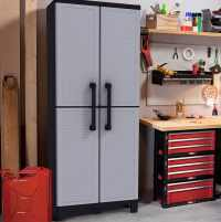 Garage Storage Ideas (Cabinets, Racks & Overhead Designs ...