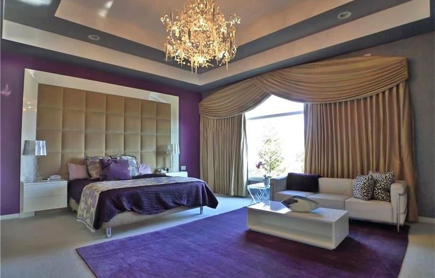 25 Gorgeous Purple Bedroom Ideas