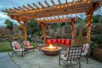 50 Beautiful Pergola Ideas (Design Pictures) - Designing Idea