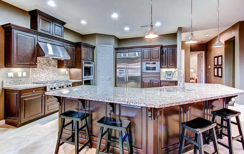 cream colored kitchen cabinets cart drop leaf beige granite countertops (colors & styles) - designing idea
