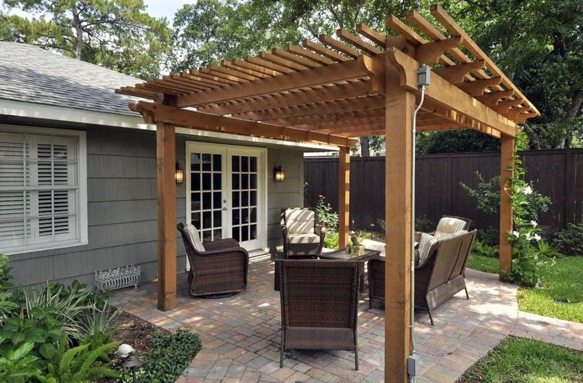 50 Beautiful Pergola Ideas (design Pictures)  Designing Idea