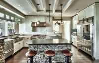 23 Stunning Gourmet Kitchen Design Ideas - Designing Idea