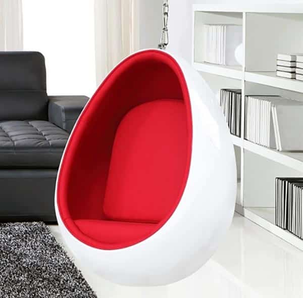 egg swing chair bar chairs swivel 25 fun cocoon - designing idea