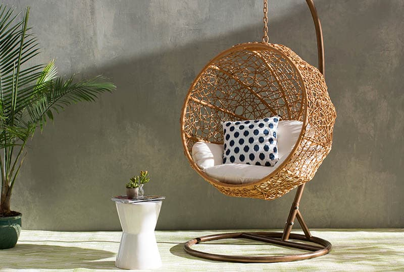 hanging chair stand outdoor with cushion 25 fun cocoon swing chairs - designing idea