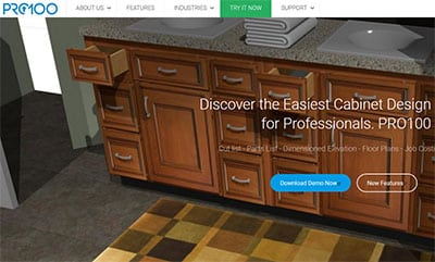 kitchen cabinet software refinishing cabinets top 17 design free paid designing idea pro100 usa