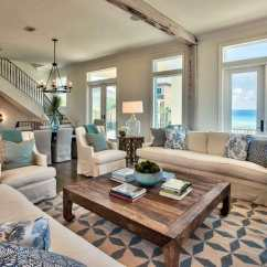 Living Room Blue Decorating Ideas Home Decor 19 Coastal Themed Designs Designing With And White Furniture