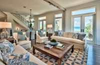 19 Coastal Themed Living Room Designs (Decorating Ideas