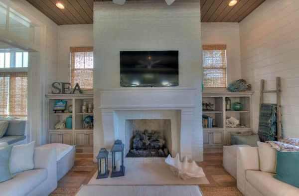zillow design living room ideas 19 Coastal Themed Living Room Designs (Decorating Ideas) - Designing Idea