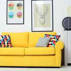 Color Sofa Doctor Kettering How To Choose The Right Couch Colors For Your Living Room With Yellow